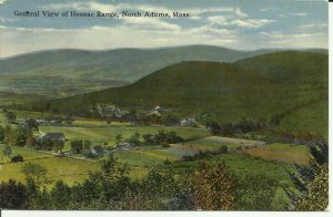 North Adams,Mass., General View Of Hoosac Range