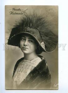 175562 HUT Fashion BELLE Art Nouveau Vintage PHOTO PC