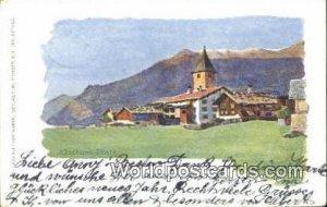 Klosters Platz Swizerland 1929