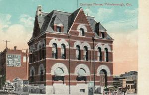 PETERBOROUGH , Ontario , 1900-10s ; Customs House