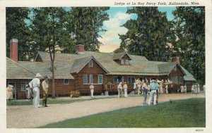 HOLLANDALE , Mississippi , 1930-40s ; Lodge at Le Roy Percy Park
