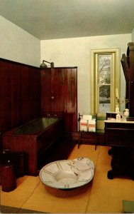 Pennsylvania Lancaster Wheatland Home Of President Buchanan The Bathroom