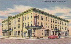 Pennsylvania Franklin The Exchange Hotel