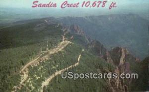 Sandia Crest Albuquerque NM Unused