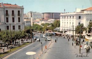 Algeria Constantine Street View Vintage Cars Voitures