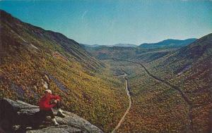New Hampshire White Mountains Crawford Notch From Mountain Willard