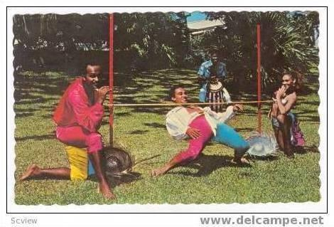 The Limbo, Dance of the Tropics, Jamaica, 40-60s
