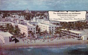 The Shoreham And Norman Twin Hotels And Villas  Miami Beach Florida