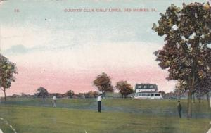 Iowa Des Moines Country Club Golf Links