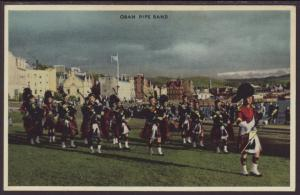 Oban Pipe Band Postcard BIN