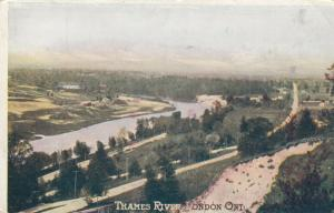 LONDON , Ontario , 1900-10s ; TYhames River