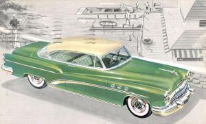 Buick Super Riviera Model 56R Early Auto Car Vintage Postcard K78947