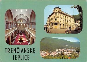 Czech R. Trencianske Teplice, Liecebny dom Hamman, Celkovy pohlad