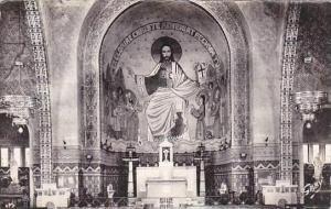 France Domfront Interieur de l'Eglise Sanit-Julien Real Photo