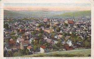 Bird's eye view, Clearfield, Pennsylvania,  PU-1903