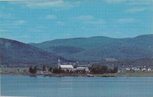 View from 40 Winks Motel , CAMPBELLTON , New Brunswick , Canada , 50-60s