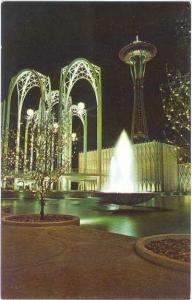 Federal Science Pavilion & Space Needle Seattle Washington
