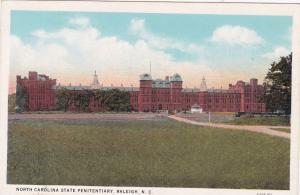 RALEIGH, North Carolina ,1910s ; State Penitentiary