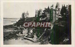 Postcard Modern Dinard Emerald Coast La Malouine in the Far St Malo