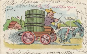 On the Water wagon , 1907