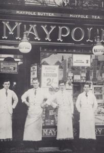 Maypole Farm Dairy Shop in 1920 View & Owner Hitchin Hertfordshire Postcard