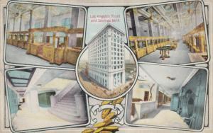 LOS ANGELES , California ; 1900-10s ; Trust & Savings Bank