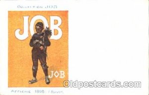 Job Cigarette Advertising Artist Bouisset Postcard Post Card Unused