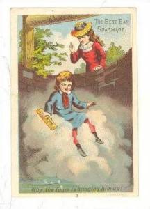 Tradecard, ACME Foam Soap Bar 1890s