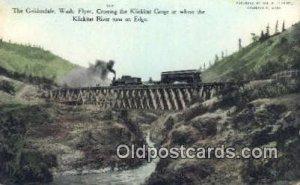 The Goldendale, Washington, WA USA Trains, Railroads Unused light wear
