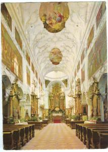 Austria, Stiftkirche St. Peter, Salzburg, 1972 used Postcard