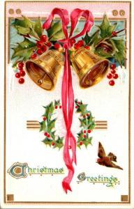 Tucks Christmas Greetings With Bells