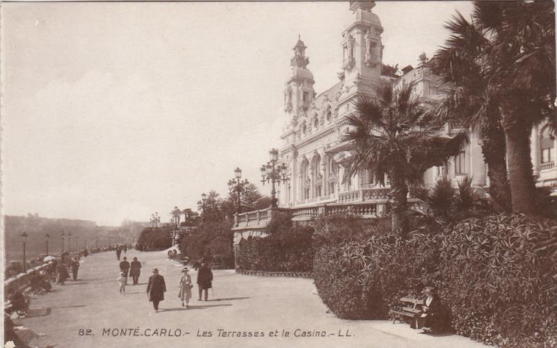RP: MONTE-CARLO , 00-10s ; Le Terrasses et le Casino