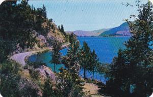 Canada British Columbia Along Scenic Woods Lake