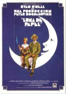 Postcard of Paper Moon Movie Spanish