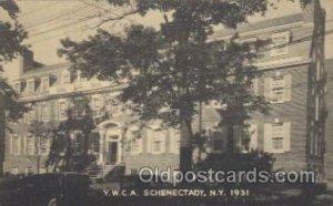 Y.W.C.A.Schenectady, New York, N.Y. 1931, USA YWCA Fraternal Unused