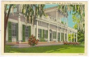 Linden, A. M. Feltus home, Natchez, Mississippi, 30-40s