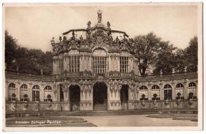 Dresden. Zwinger - Pavvillon