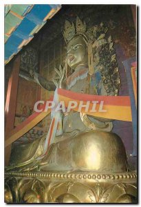 Modern Postcard Statue of Bodhisattva Manjushri