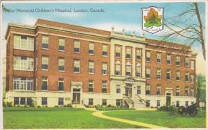 LONDON , Ontario , Canada , 30-40s , War Memorial Children's Hospital