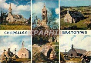 Postcard Modern Chapels Breton