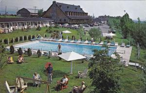 Hotel-Motel Cap-aux-Pierres, Swimming Pool, County Charlevoix, QUEBEC, PU-40-60s