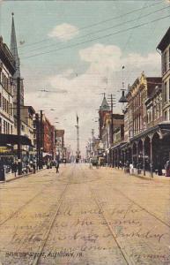 Pennsylvania Allentown Hamilton Street 1907