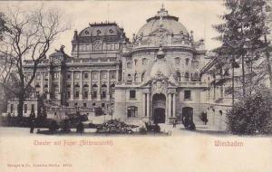Theater Mit Foyer (Seitenansicht), Wiesbaden (Hesse), Germany, 1900-1910s