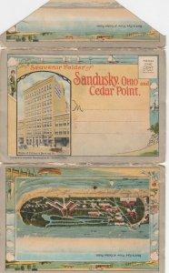 SANDUSKY  , Ohio , 1900-10s ; Folder of Sandusky and Cedar Point