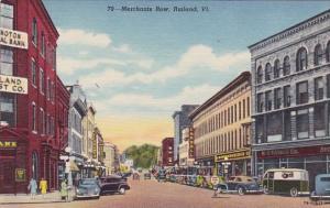 Merchants Row Rutland Vermont
