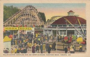 TORONTO , Ontario , 1930s ; Sunnyside Beach , Rides