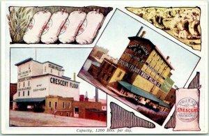 Grand Rapids, Michigan Advertising Postcard VOIGT MILLING CO. Multi-View Unused