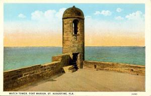 FL - St Augustine, Fort Marion Watchtower