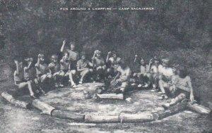 Fun Around A Campfire Camp Sacajawea Artvue