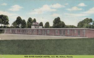 MILTON , Florida, 1954 ; Red River Ranch Motel